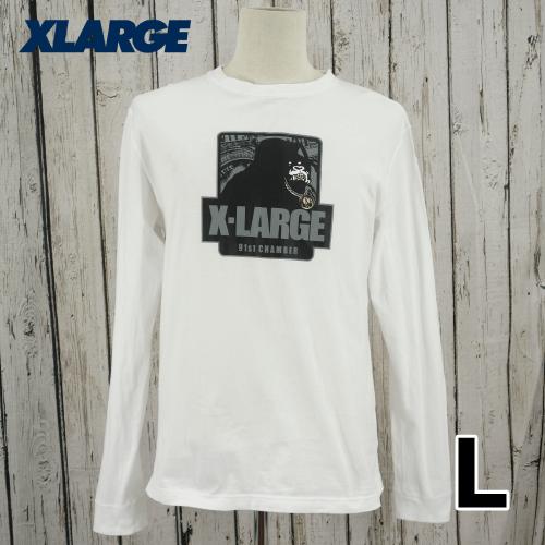 X-LARGE(エクストララージ)ビッグロゴ 長袖 Tシャツ ロンT L USED
