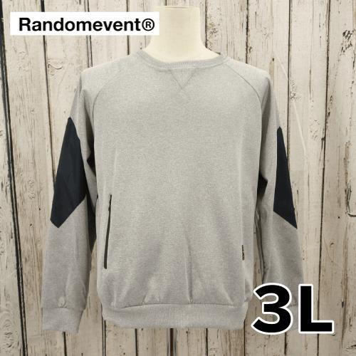 【美品】 RANDOMEVENT ポケット付き トレーナー 3L USED