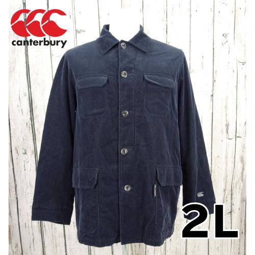 【美品】 CANTERBURY(カンタベリー) 刺繍 中綿ジャケット 2L USED