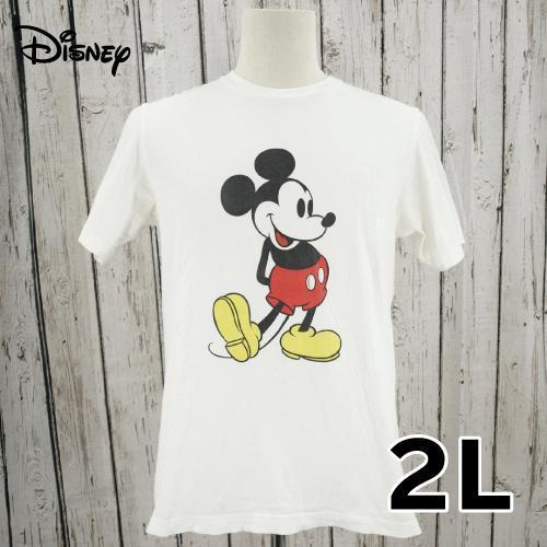 【美品】 Disney(ディズニー) 半袖 Tシャツ 2L USED