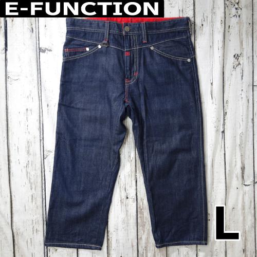 【美品】 E-FUNCTION ジーパン 七分丈 L USED