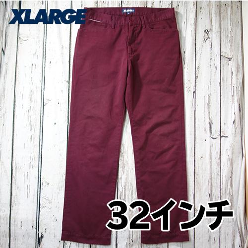 【美品】 X-LARGE(エクストララージ) チノパン 32インチ USED