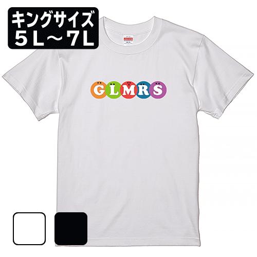 キングサイズ 大きいサイズ メンズ Tシャツ 半袖 GLMRS Sweet Logo / 5L 6L 7L