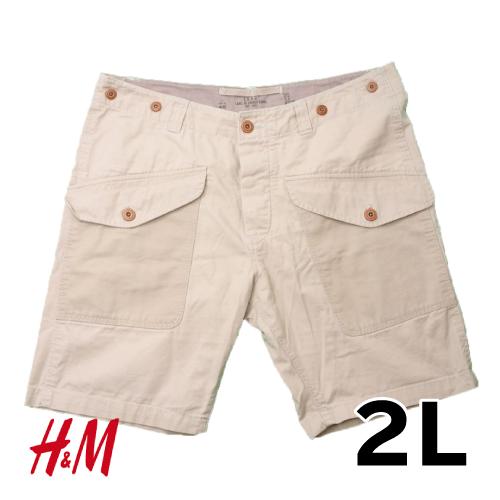 H&M ハーフパンツ 2L USED 古着