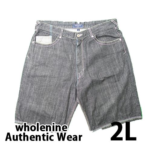wholenine Authentic Wear ハーフパンツ 2L USED 古着