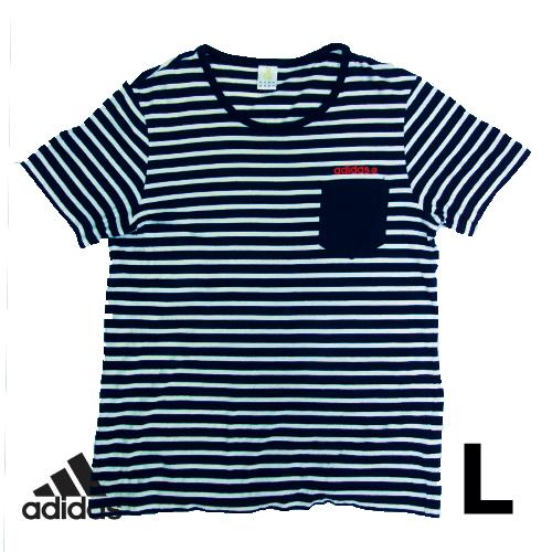 アディダス(adidas) 半袖Tシャツ XO(当ストアL相当) 古着 USED