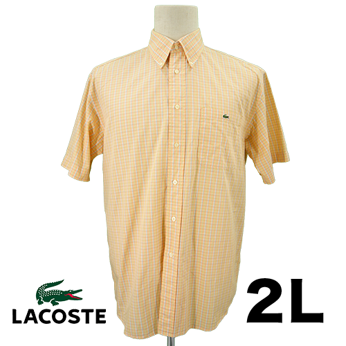 LACOSTE(ラコステ) シャツ 2L USED 古着