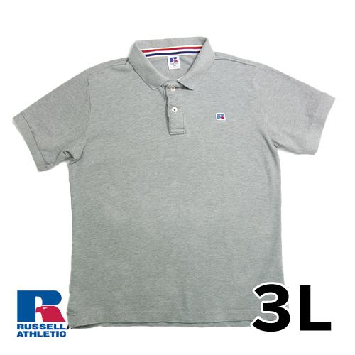 ラッセルアスレチック 半袖 ポロシャツ 3L