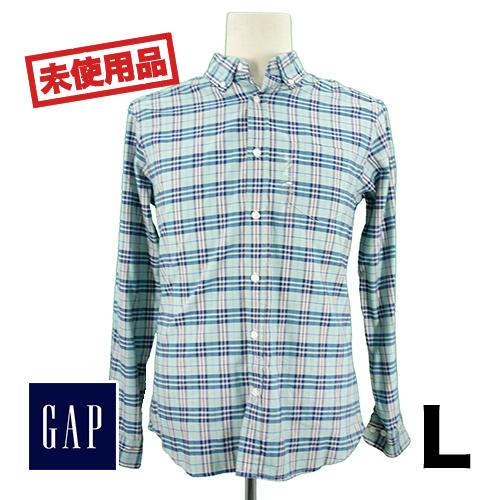 【新古品/未使用】GAP(ギャップ) 長袖シャツ L USED 古着