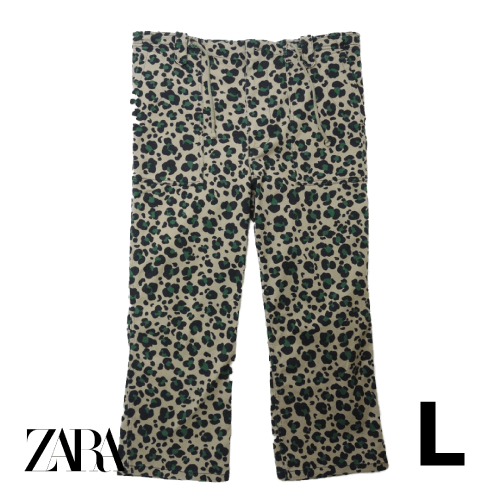 【美品】ZARA ロングパンツ L USED 古着
