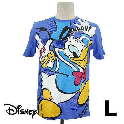 【美品】 ビッグ ドナルド Tシャツ L USED 古着
