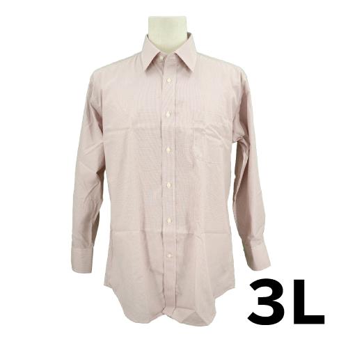 【美品】ROSSONA 長袖 シャツ 3L USED 古着