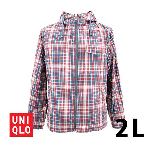 【美品】UNIQLO(ユニクロ) 長袖 パーカー 2L USED 古着