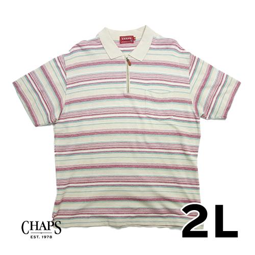 CHAPS DENIM ポロシャツ 2L
