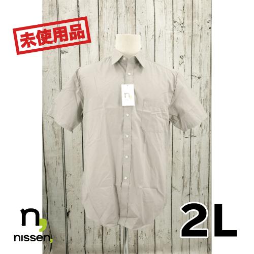【新古品/未使用】NISSEN 半袖 シャツ 2L USED 古着