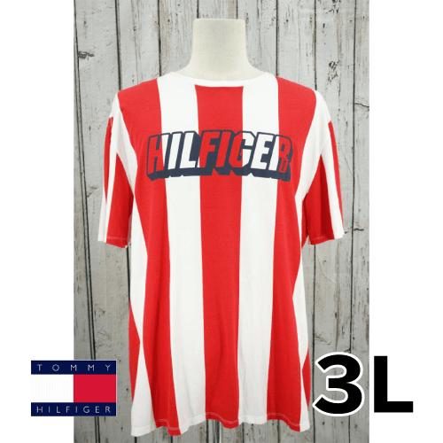 【美品】Tommy Hilfiger(トミーヒルフィガー) 半袖Tシャツ 3L USED 古着