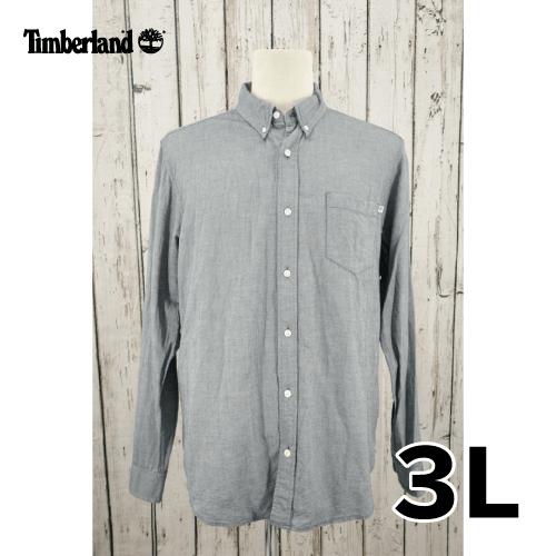 【美品】Timberland(ティンバーランド) 長袖 シャツ 3L USED 古着