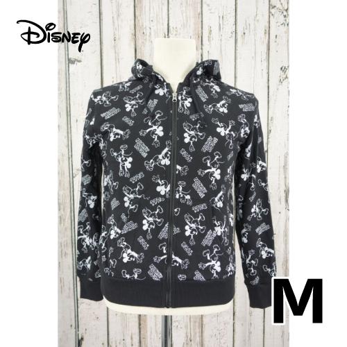 【美品】 Disney(ディズニー)ミッキー マルチ フルジップ パーカー M USED 古着