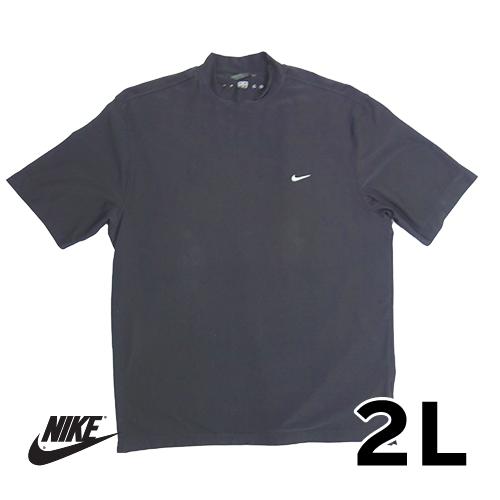 【美品】2L ナイキ(NIKE) ドライTシャツ ブラック