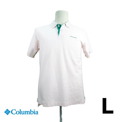 Columbia(コロンビア) 半袖ポロシャツ L USED 古着
