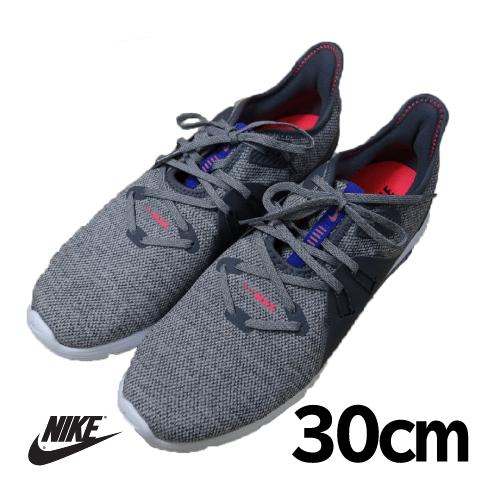 【美品】NIKE(ナイキ) AIR MAX FITSOLE 靴 30cm グレー USED 古着