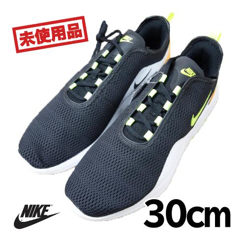 【新古品/未使用】NIKE(ナイキ) AIR MAX MOTION2 靴 30cm ブラック USED 古着
