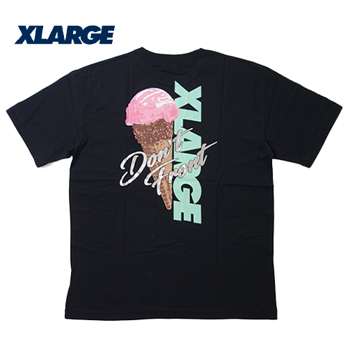 【数量限定】大きいサイズ メンズ XLARGE(エクストララージ) ICECREAM OG S/S Tシャツ 半袖 メンズ / 2L