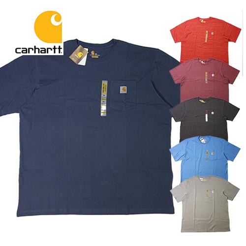 【数量限定】大きいサイズ メンズ CARHARTT(カーハート) ポケット Tee K87 S/S 半袖 Tシャツ メンズ / 3L