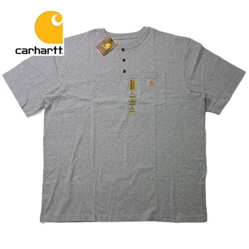 【数量限定】大きいサイズ メンズ CARHARTT(カーハート) ヘンリーネック Tee K84 S/S 半袖 Tシャツ メンズ / 3L