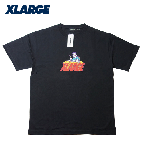【数量限定】大きいサイズ メンズ XLARGE(エクストララージ) BACK TO SCHOOL S/S Tシャツ 半袖 メンズ / 2L