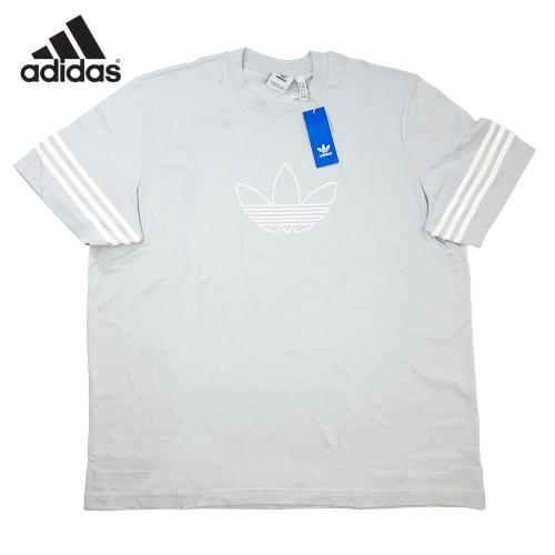 【数量限定】大きいサイズ メンズ ADIDAS Originals(アディダスオリジナルス) アウトライン 半袖 Tシャツ S/S メンズ / 3L 2XL