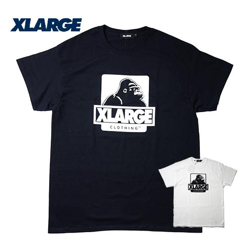 【数量限定】大きいサイズ メンズ XLARGE(エクストララージ) OG ロゴ S/S Tシャツ 半袖 メンズ / L 2L