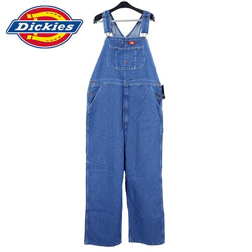 【数量限定】大きいサイズ メンズ Dickies ディッキーズ オーバーオール つなぎ INDIGO BIB OVERALL / L32×W38