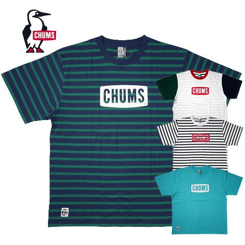 【数量限定】大きいサイズ メンズ CHUMS チャムス Logo T-Shirt チャムスロゴ 半袖Tシャツ メンズ 3L XXL