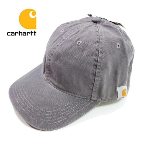 【数量限定】  大きいサイズ CARHARTT カーハート Cotton Canvas Cap 帽子 メンズ / グレー / ONESIZE