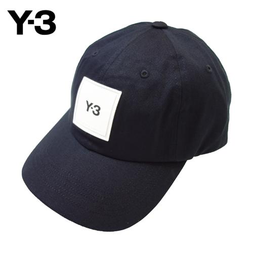 【数量限定】  大きいサイズ Y-3 ワイスリー キャップ SQUARE LABEL CAP HF2143 帽子 メンズ / ブラック / ONESIZE