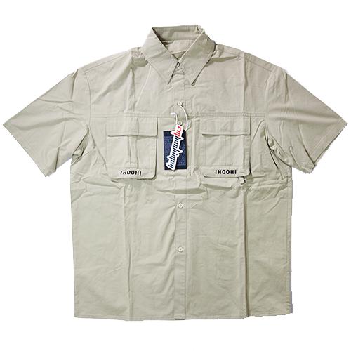 【数量限定】大きいサイズ メンズ 半袖シャツ ワークシャツ / 3L