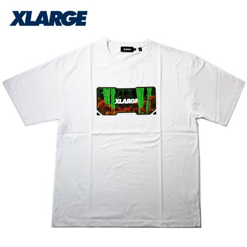 【数量限定】大きいサイズ メンズ  XLARGE エクストララージ HABITAT 半袖Tシャツ / 2L