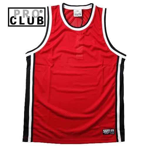 【数量限定】大きいサイズ メンズ  PROCLUB プロクラブ CLASSIC BASKETBALL JERSEY RETORO タンクトップ / 2L 3L