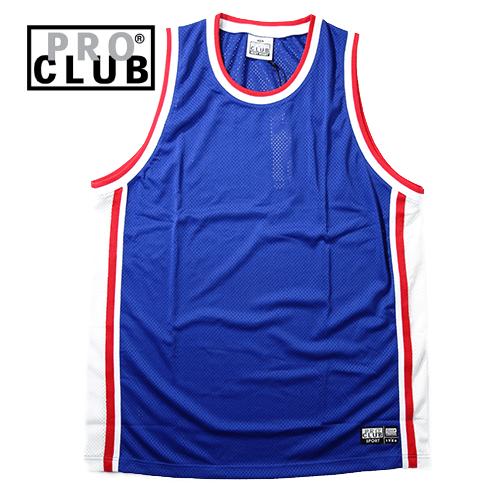 【数量限定】大きいサイズ メンズ  PROCLUB プロクラブ CLASSIC BASKETBALL JERSEY RETORO タンクトップ / 3L