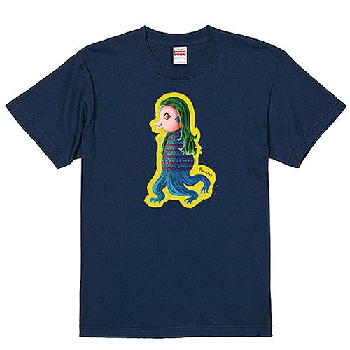 【数量限定/30%OFF】大きいサイズ メンズ Tシャツ 半袖 あまびえ/4L/インディゴ