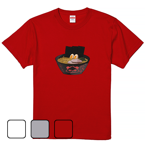 Tシャツ 半袖 大きいサイズ 5.6オンス ぐらまらすら~めん