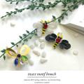 GLAMOROUS GARDEN ハチ&チョウモチーフブローチ【メール便OK】