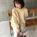 ワイドニットプルオーバー【8j-831-00998】