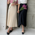プリーツロングスカート【8e-155-00004】