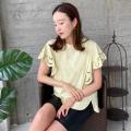 パンチングレースTシャツ【ネコポスOK】【8e-831-02042】