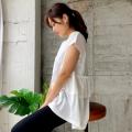 バックフリルTシャツ【ネコポスOK】【8e-138-01425】