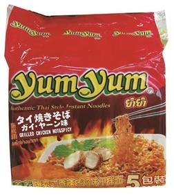 インスタント 焼きそば ガイ・ヤーン (ホット&スパイシー)18個入1ケース販売(90食分)