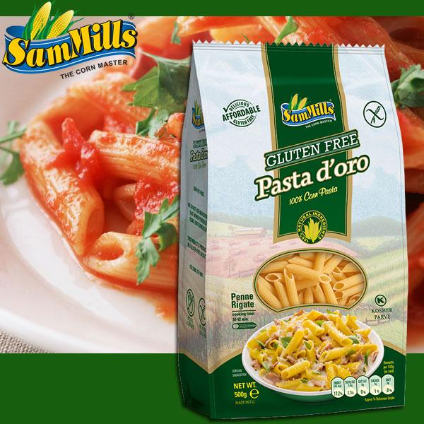 グルテンフリー Pasta d'oro コーンマカロニ・ペンネ 500g [パスタ 健康食品]