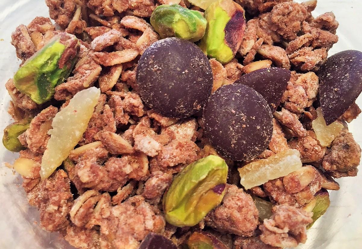 【NEW】 ダークチョコレートグラノーラ * ピスタチオ / Dark Chocolate Granola * Pistachio  270g